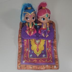 Shimmer & Shine Magic Flying Carpet Talking singin